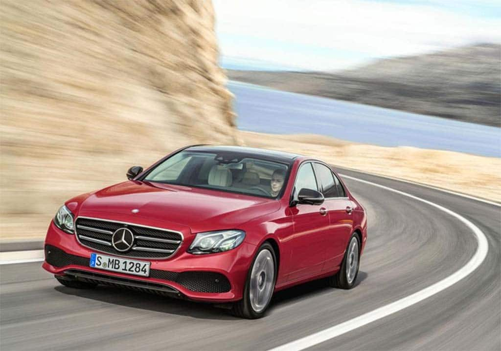 mercedes benz e class pics leak ahead of detroit debut. Black Bedroom Furniture Sets. Home Design Ideas