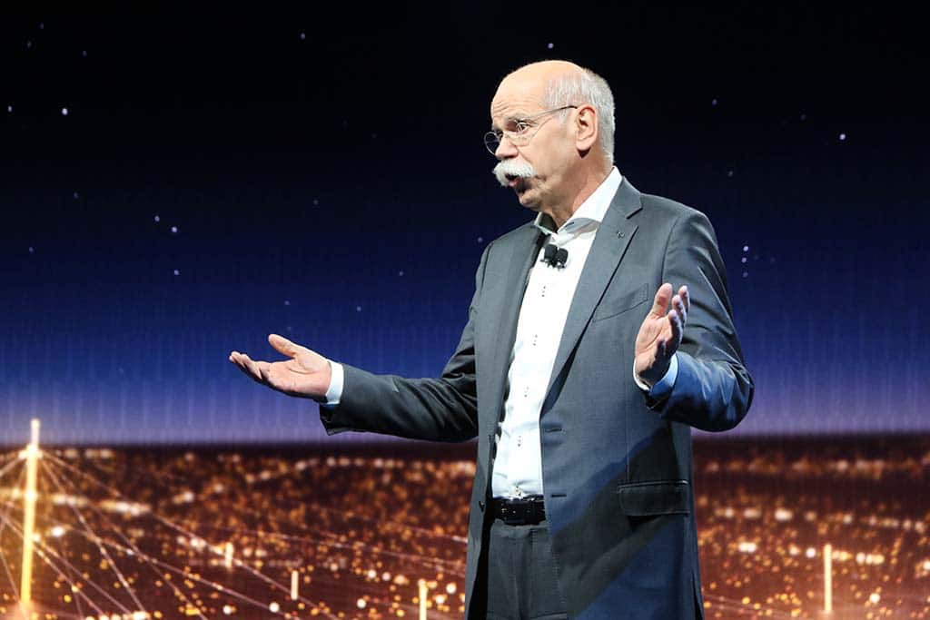 Zetsche: Daimler Preparing to Meet Different Challenges