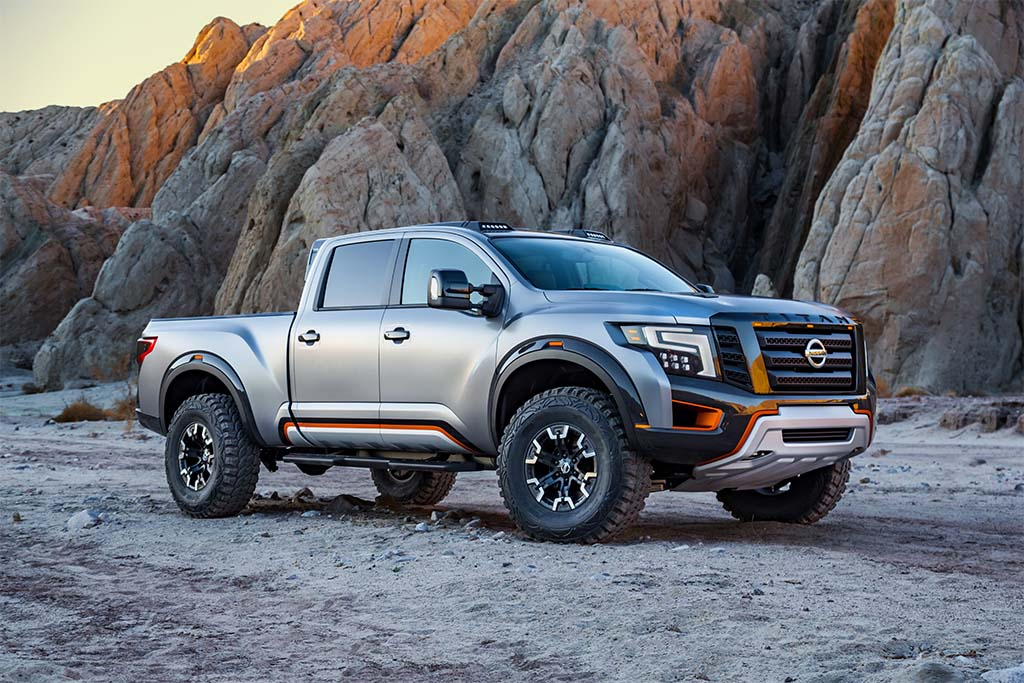 New nissan titan trucks concept submited images