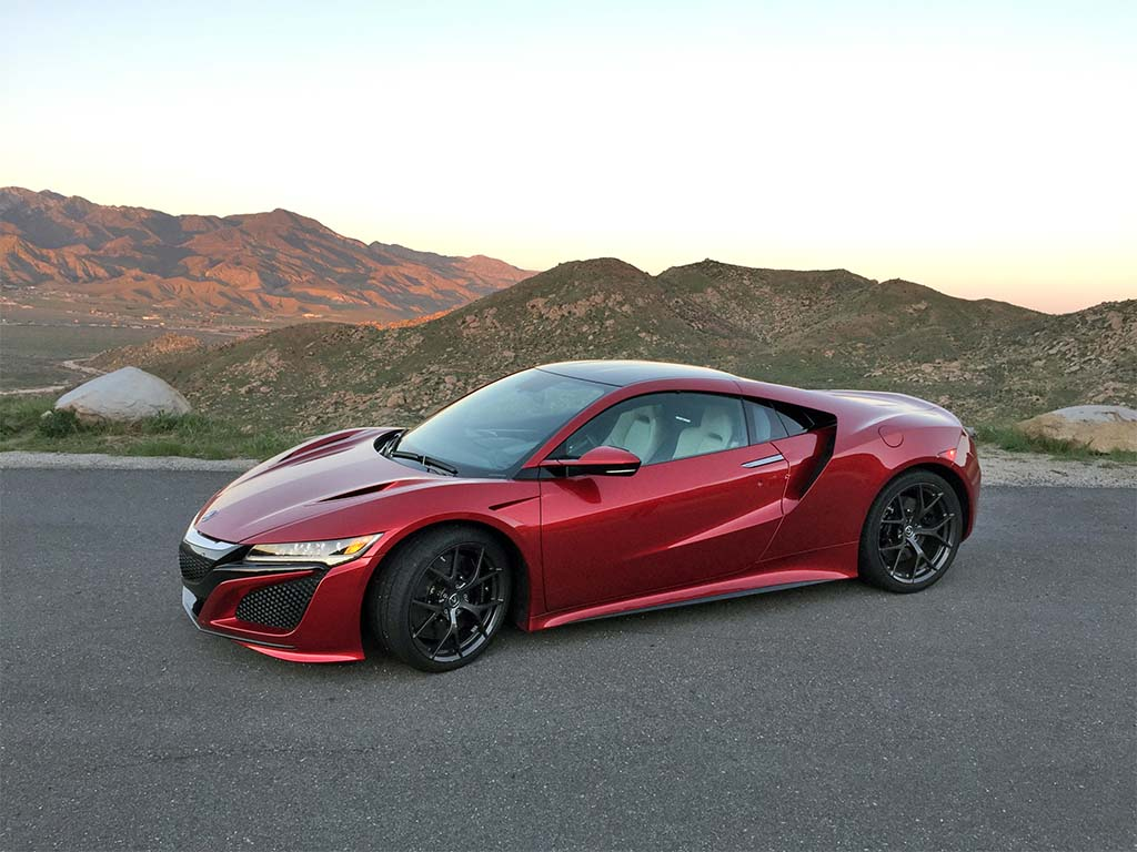 acura considers option for brawnier nsx type r. Black Bedroom Furniture Sets. Home Design Ideas