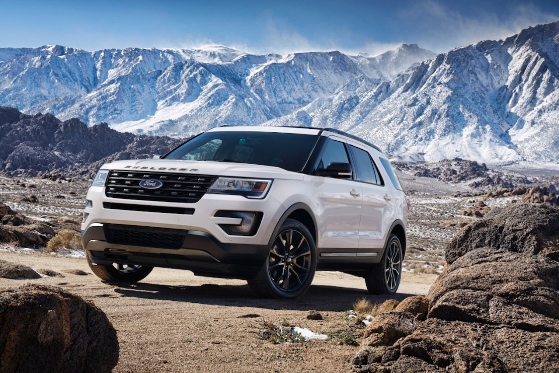 Ford Recalling 1.2 Million Explorer SUVs