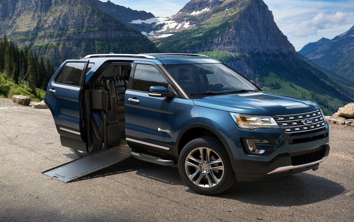 ford unveils new explorer packages in chicago. Black Bedroom Furniture Sets. Home Design Ideas