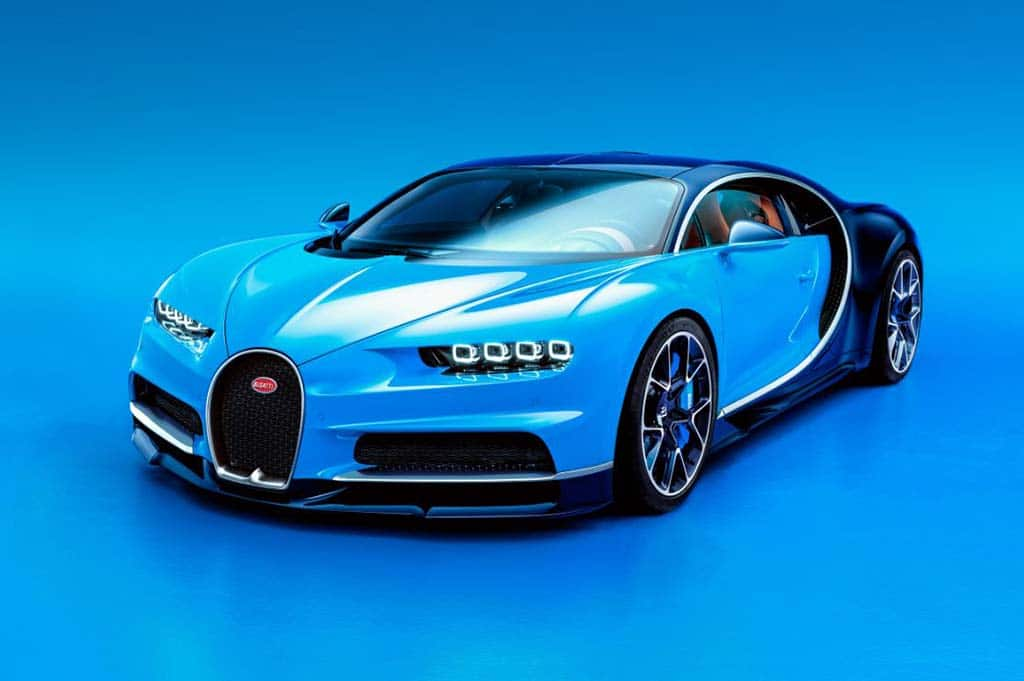 Bugatti Lifts Covers on 261-mph Chiron Ahead of Geneva Debut