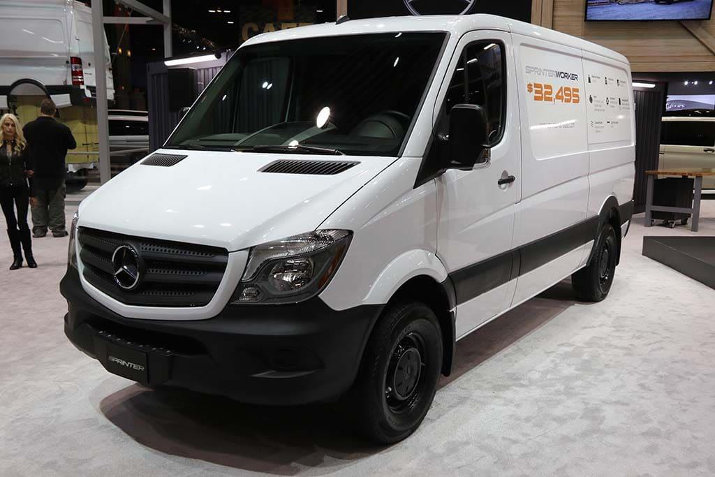 Mercedes Eyeing Market for Electric Vans, Trucks