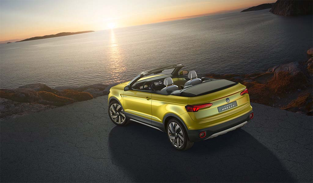 life s a breeze with vw t cross cabrio concept. Black Bedroom Furniture Sets. Home Design Ideas