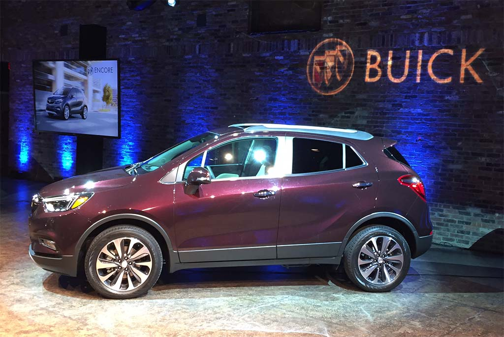 first look 2017 buick encore. Black Bedroom Furniture Sets. Home Design Ideas