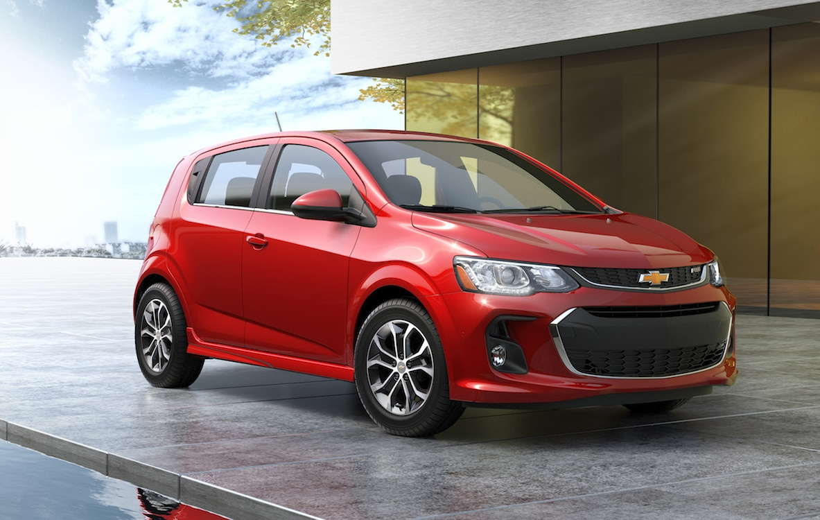 Chevrolet Dropping Sonic as Demand for Small Cars Plunges