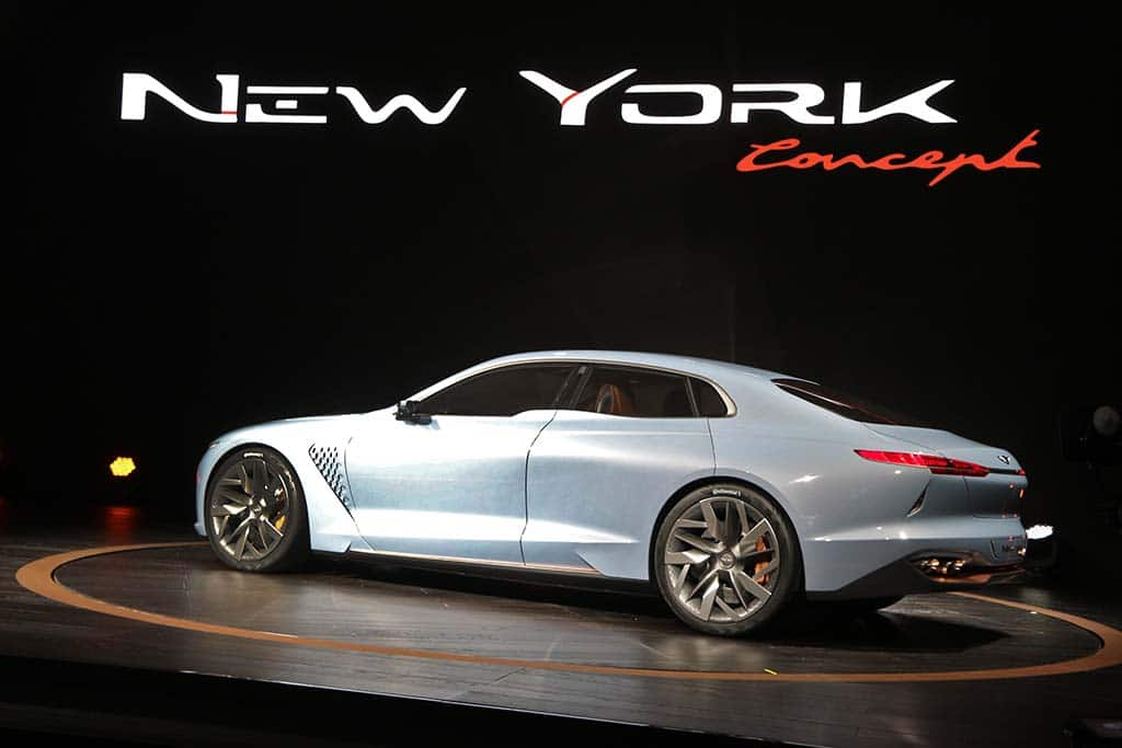 Excellent Genesis NY Concept Set To Become 3rd Sedan In New Luxury