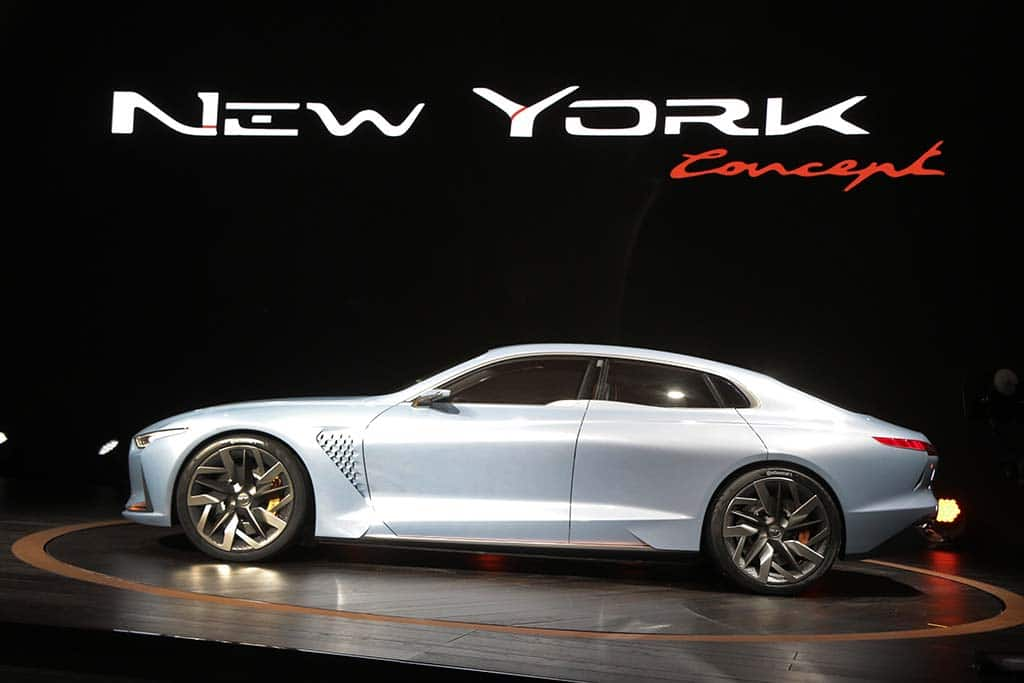 Genesis Ny Concept Set To Become 3rd Sedan In New Luxury Brands