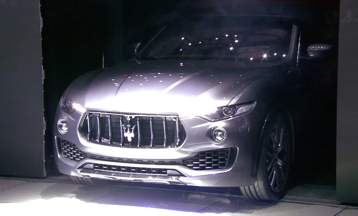 maserati joins luxury suv crowd with debut of levante. Black Bedroom Furniture Sets. Home Design Ideas