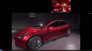 first look tesla model 3 battery sedan. Black Bedroom Furniture Sets. Home Design Ideas