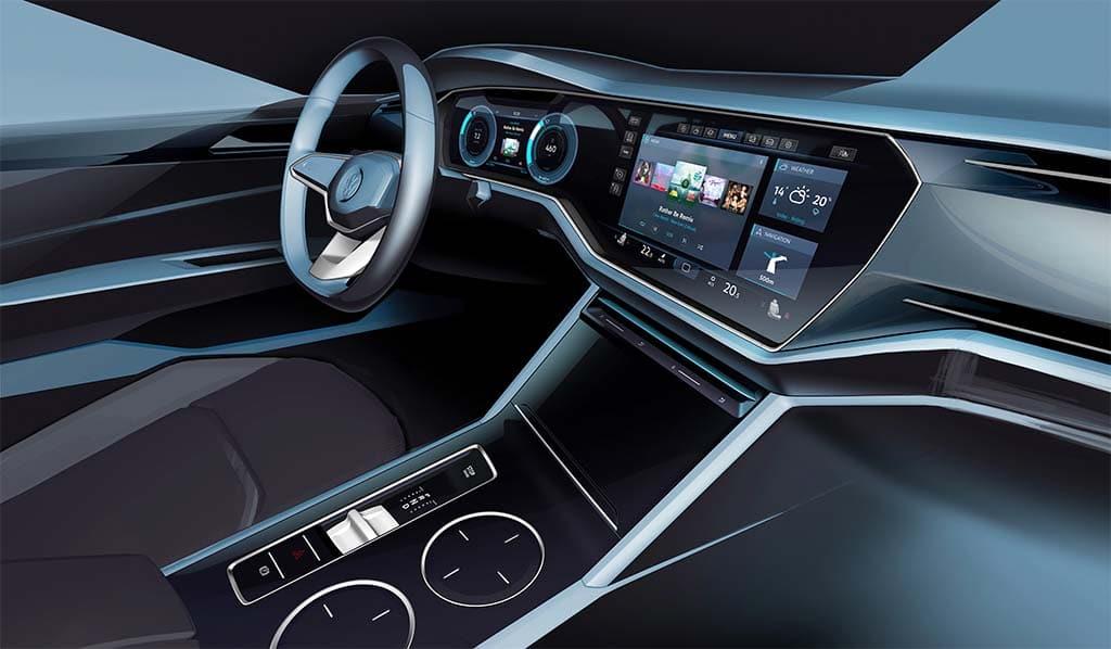 Nuevo Touareg 2018 Interior >> VW Electrifies Beijing with T-Prime Concept GTE | TheDetroitBureau.com