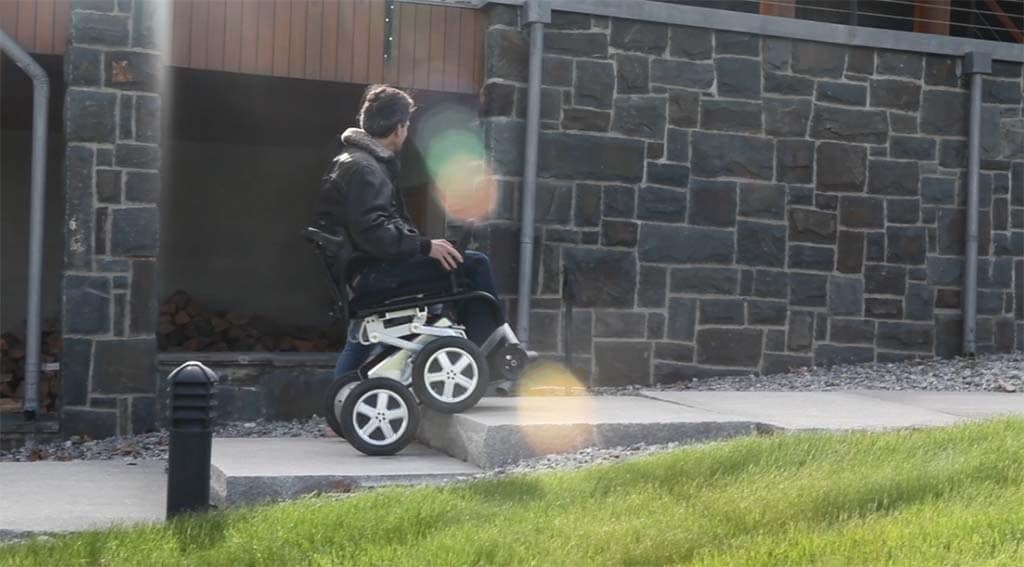 Electric Riding Vehicle >> Toyota Teams Up to Develop iBot Motorized Wheelchair | TheDetroitBureau.com