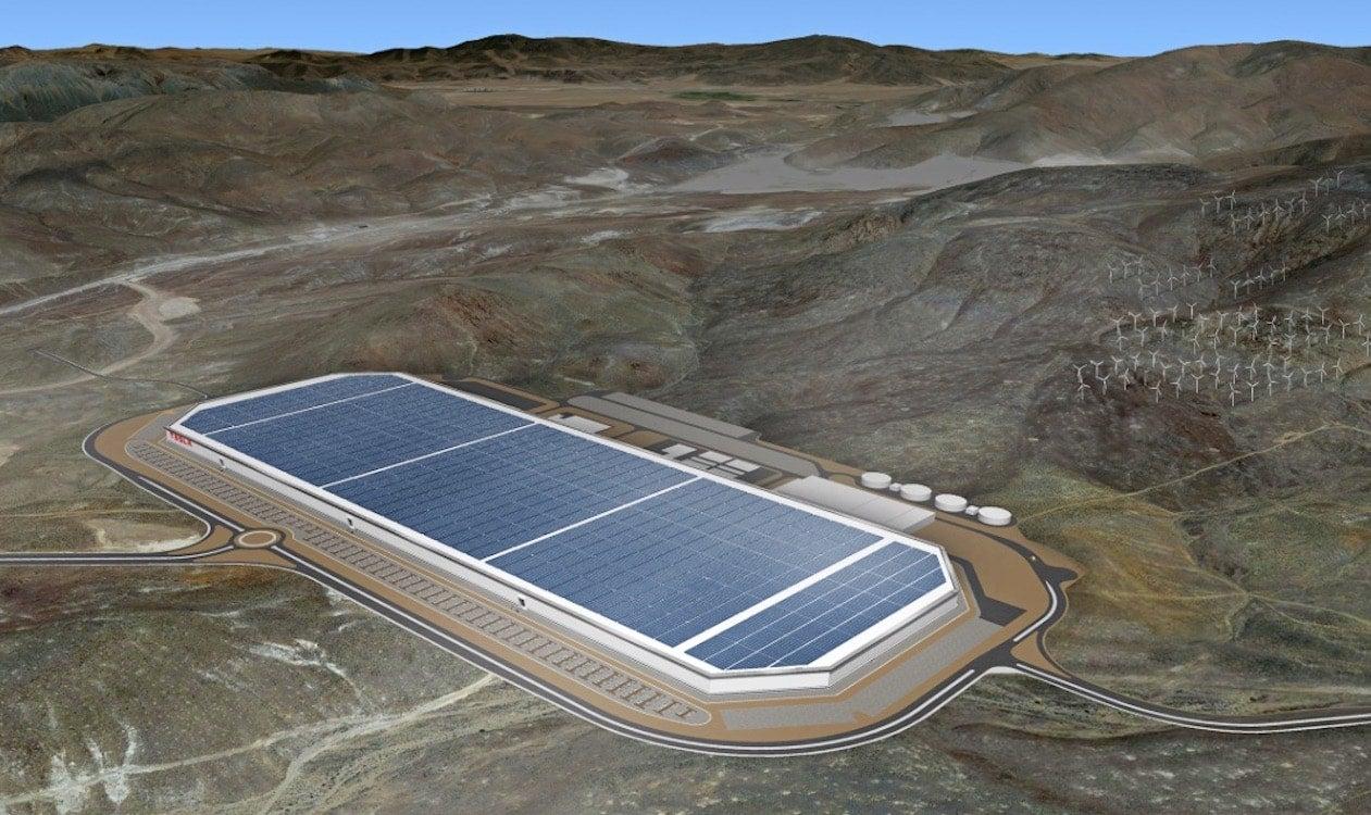 Musk Flings Open Doors of Tesla's Gigafactory