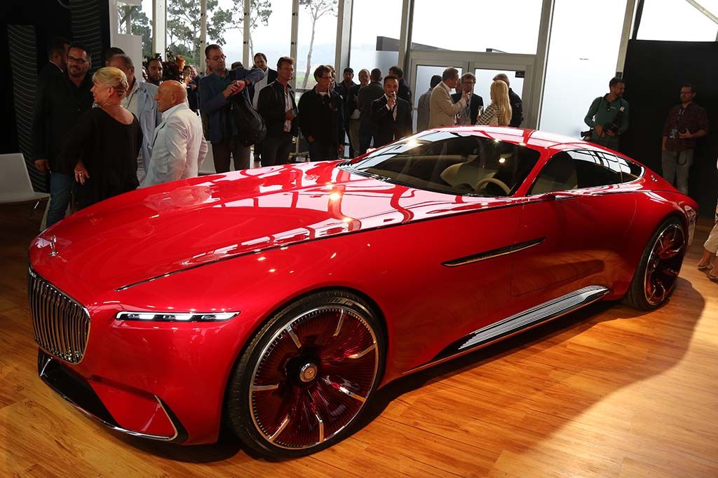 Vision mercedes maybach 6 looks back at the future for Mercedes benz maybach 6 price