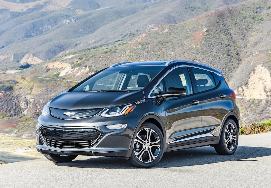 Chevy Bolt One of Nine Finalists for North American Car ...
