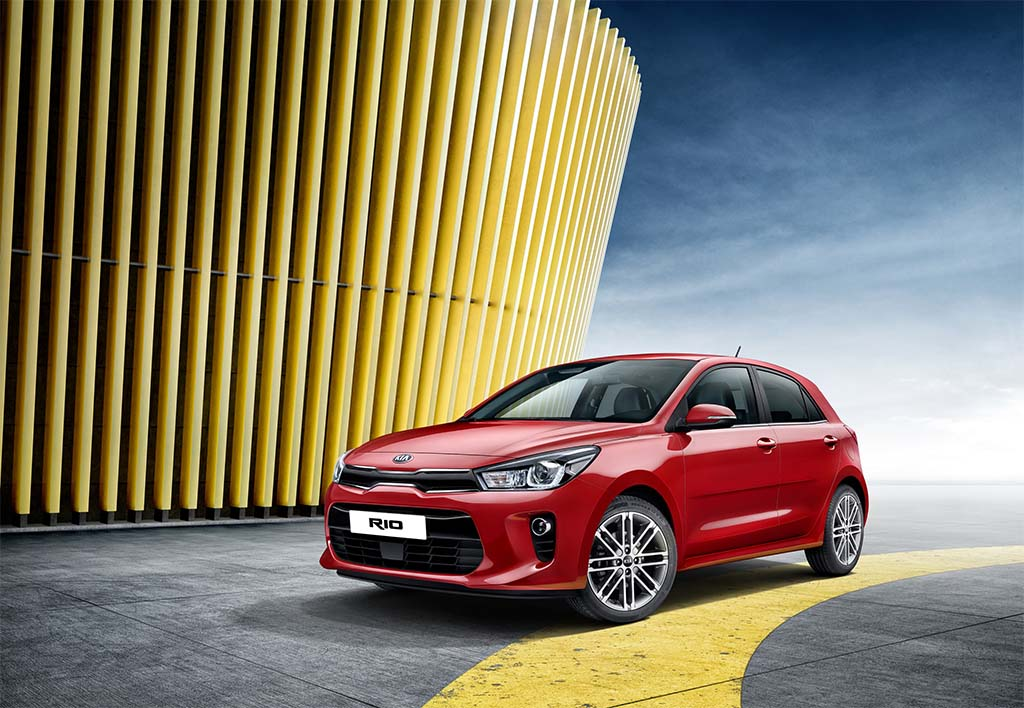 Kia Brings Rio to Paris