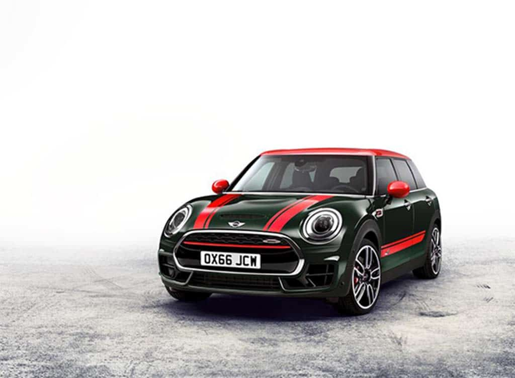 Mini Muscles Up With 2017 JCW Clubman