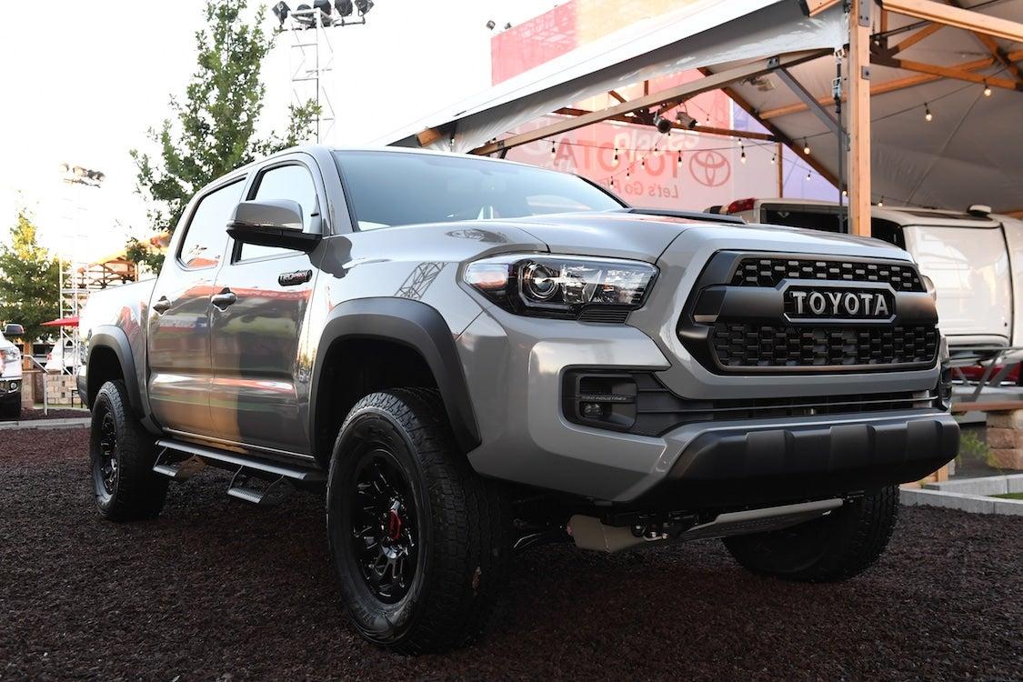 Toyota Recalling 228K Tacomas in US