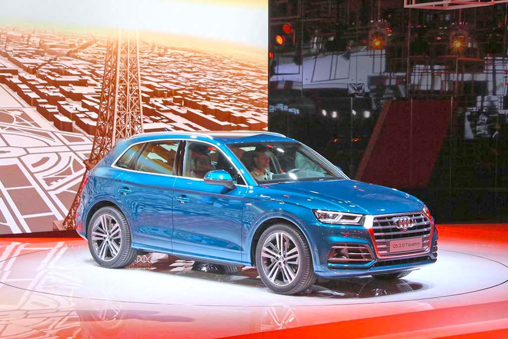 Audi Reveals Trio of New Models in Paris