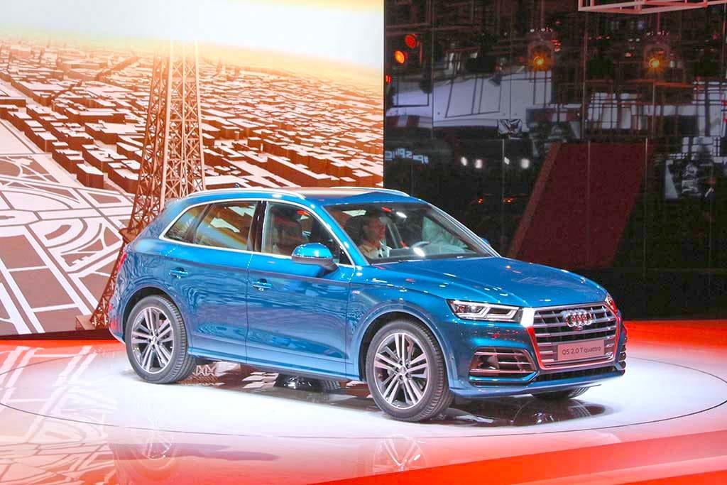 Audi Reveals Trio of New Models in Paris