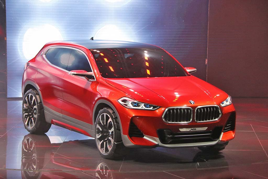 BMW Serves Up X2 Concept, New Gran Turismo, i3 in Paris