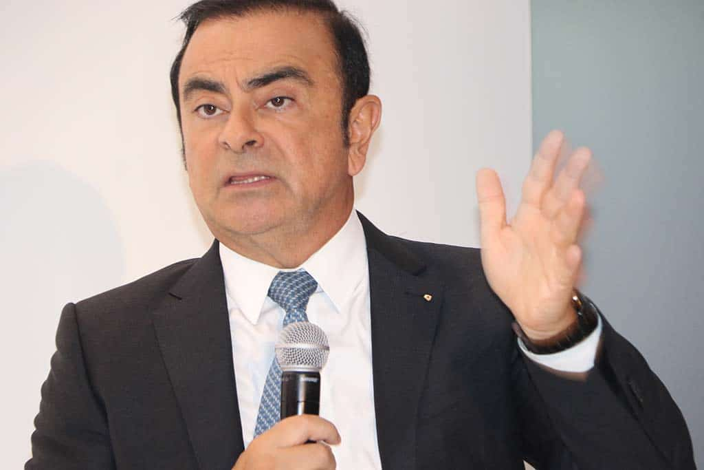 Ghosn Reimbursing Renault €50,000 for Wedding Expenses
