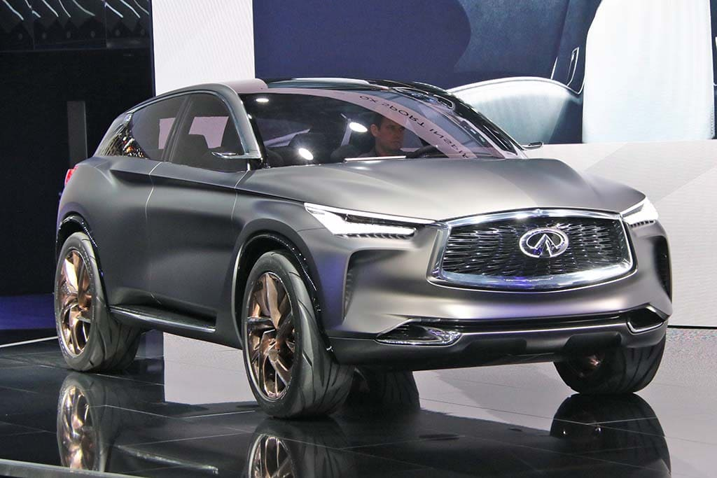 Infiniti Drives into Paris with Pair of Updated Models and Potentially Groundbreaking New Engine