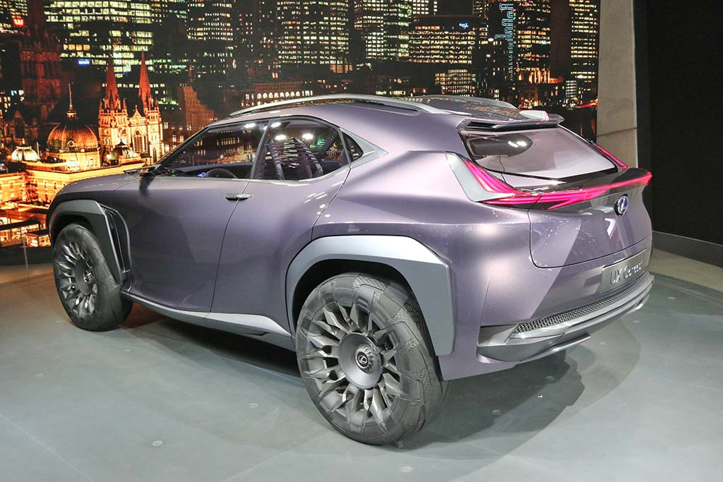 lexus downsizing with new ux crossover
