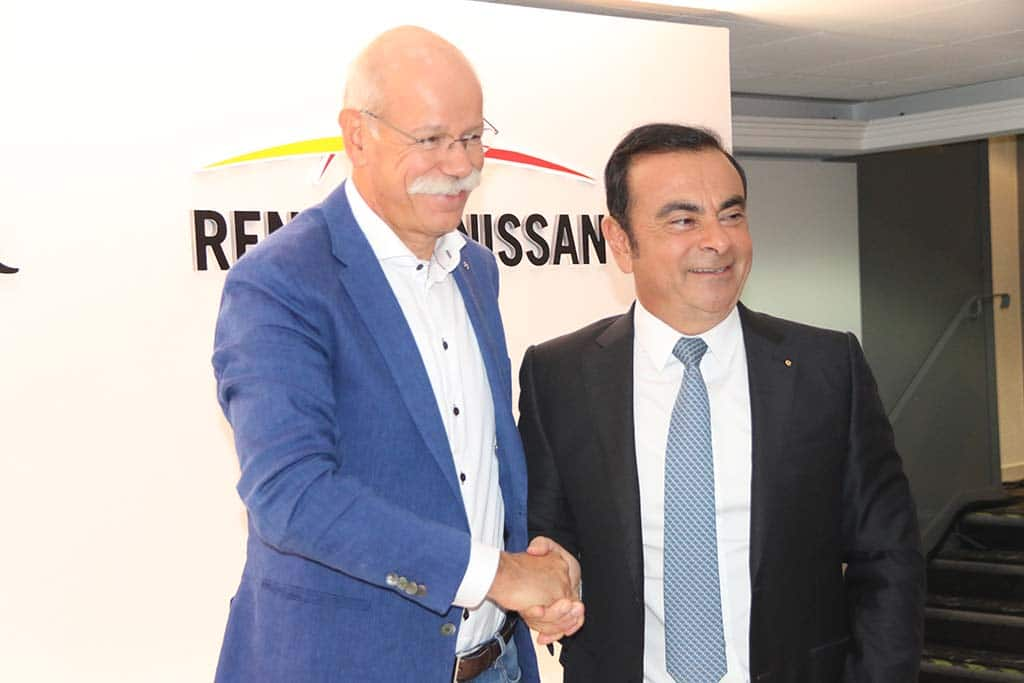 Dramatic Auto Industry Change Opens Opportunities for Renault-Nissan-Daimler Alliance, CEOs Agree