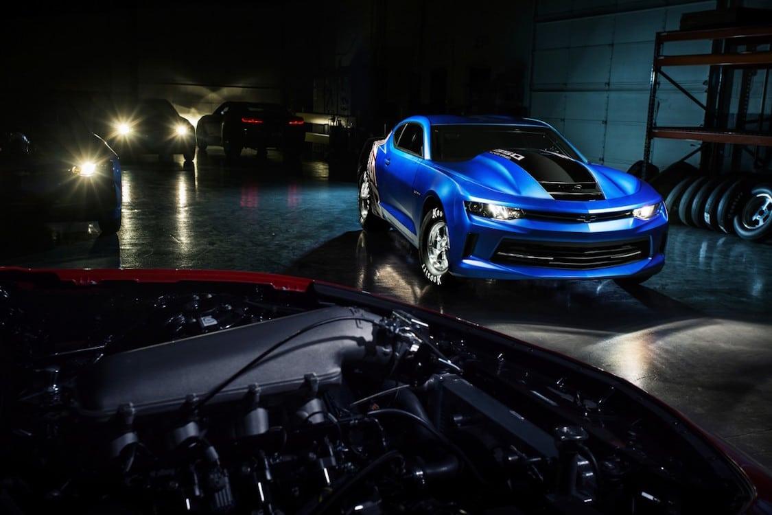Chevrolet Screams into SEMA with COPO Camaro Concept