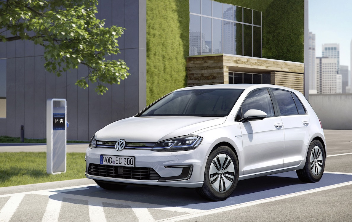 vw stretches the range of its e golf. Black Bedroom Furniture Sets. Home Design Ideas