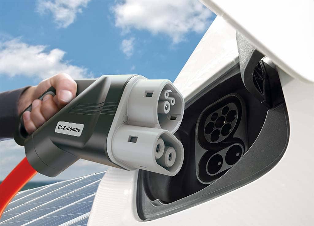 High-Speed EV Charger Plug