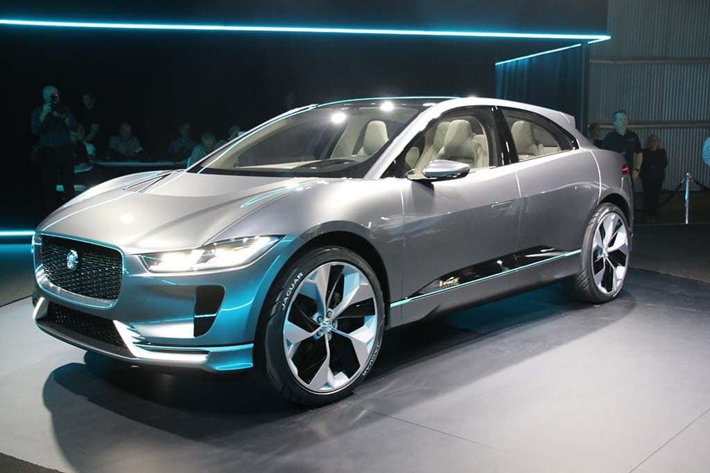jaguar i pace concept delivers range performance. Black Bedroom Furniture Sets. Home Design Ideas