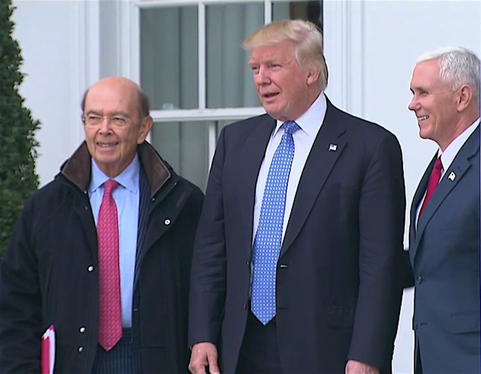 Trump Commerce Secretary Ross Well-Versed in Mexico Auto Business