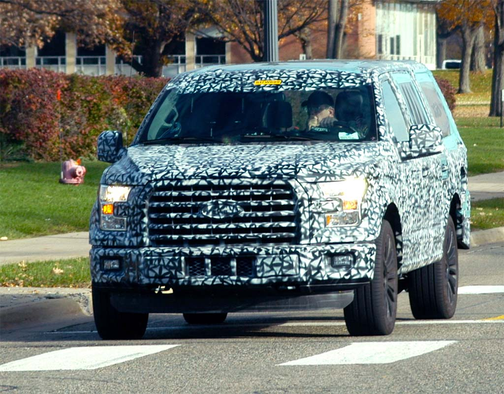 Spy Shots: Ford Expedition Goes Aluminum