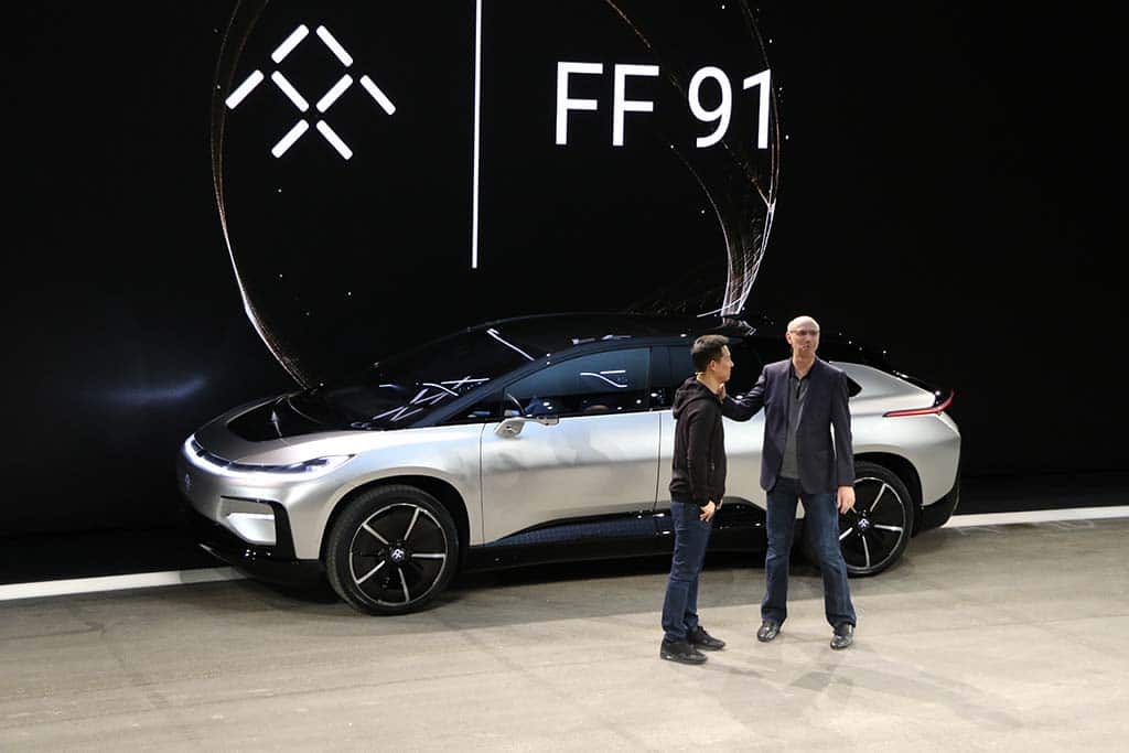 "Faraday Future ""Effectively Insolvent,"" Says Co-Founder"