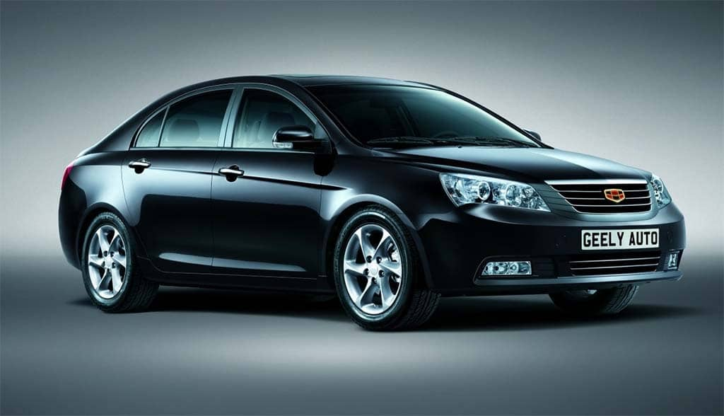 Geely Sales in China Growing Fast