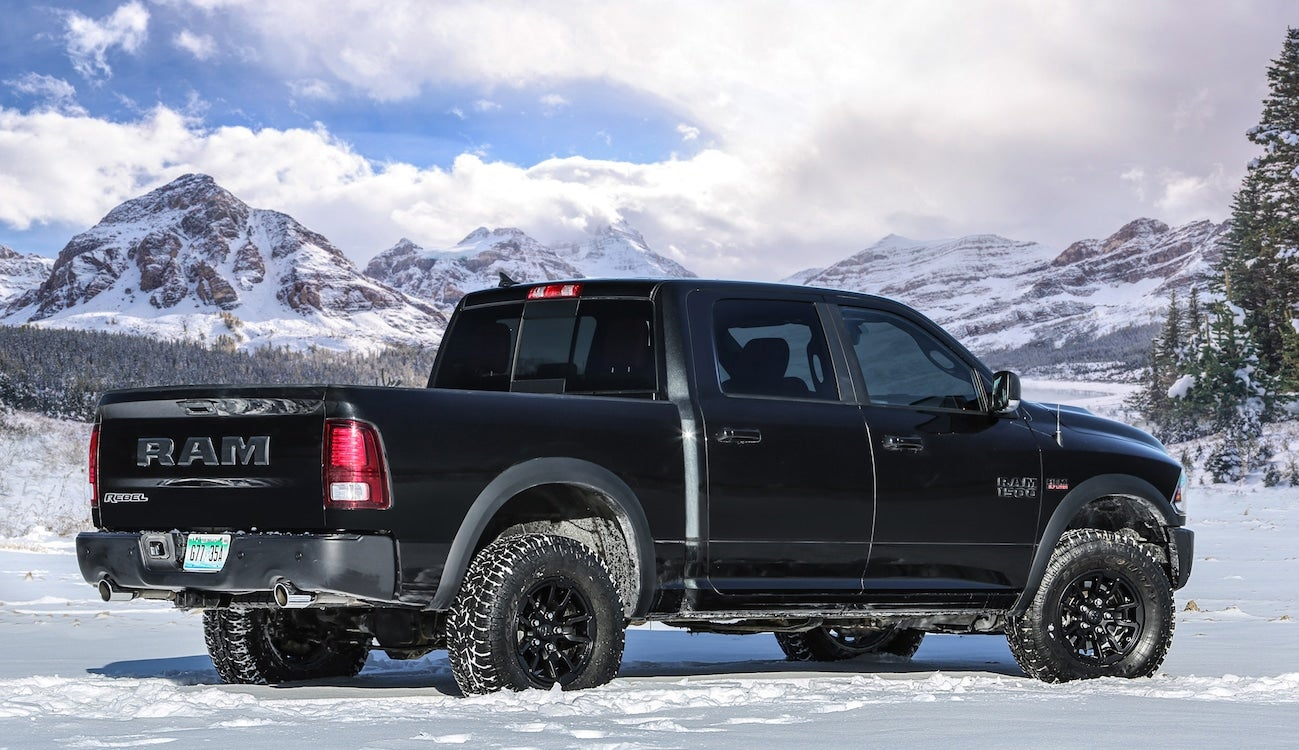 fca showing new version of ram rebel at naias. Black Bedroom Furniture Sets. Home Design Ideas