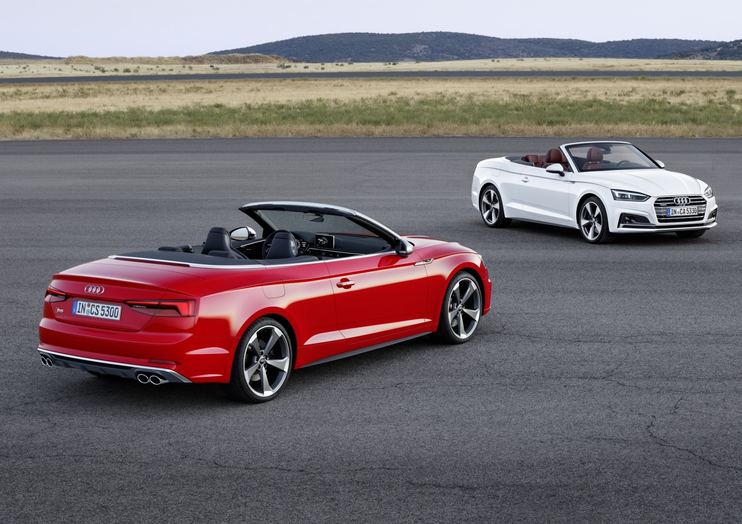 Audi Brings New A5, S5 Cabriolets To U.S. Market