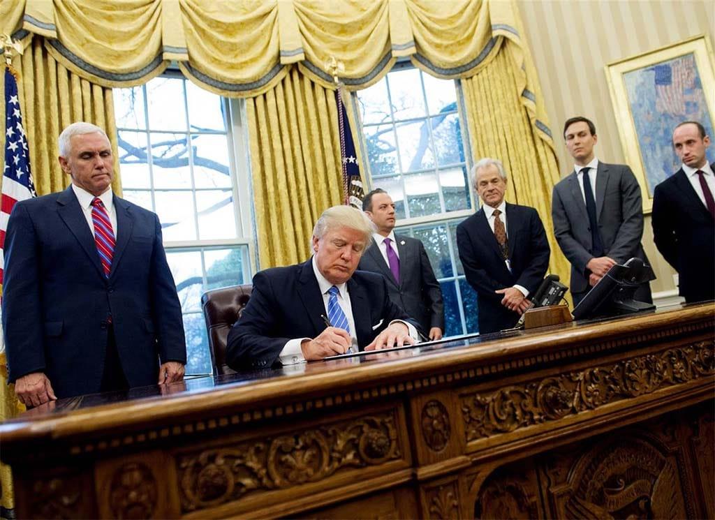 Trump Backs Off Assault on NAFTA