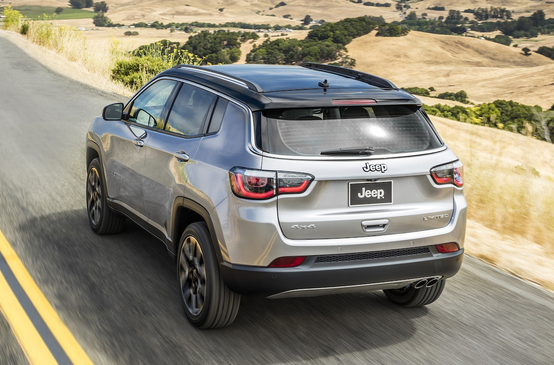 first drive 2017 jeep compass. Black Bedroom Furniture Sets. Home Design Ideas