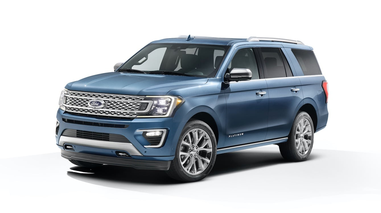 ford back in big suv game with 2018 expedition. Black Bedroom Furniture Sets. Home Design Ideas