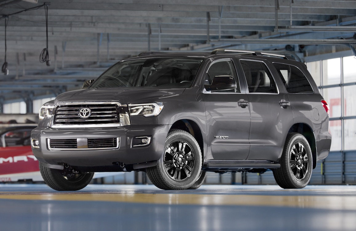 Toyota Sequoia Trd on Tundra Utility