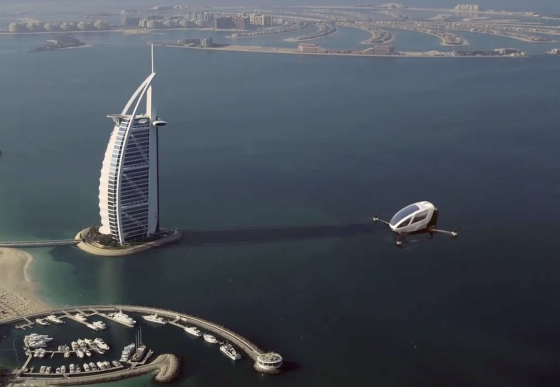 Forget Uber Or Lyft Call A Drone When In Dubai