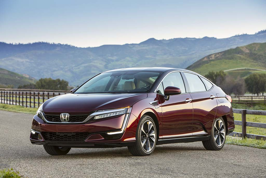What Is A Fuel Cell >> A Real Gas: First Drive of the 2017 Honda Clarity FCV ...