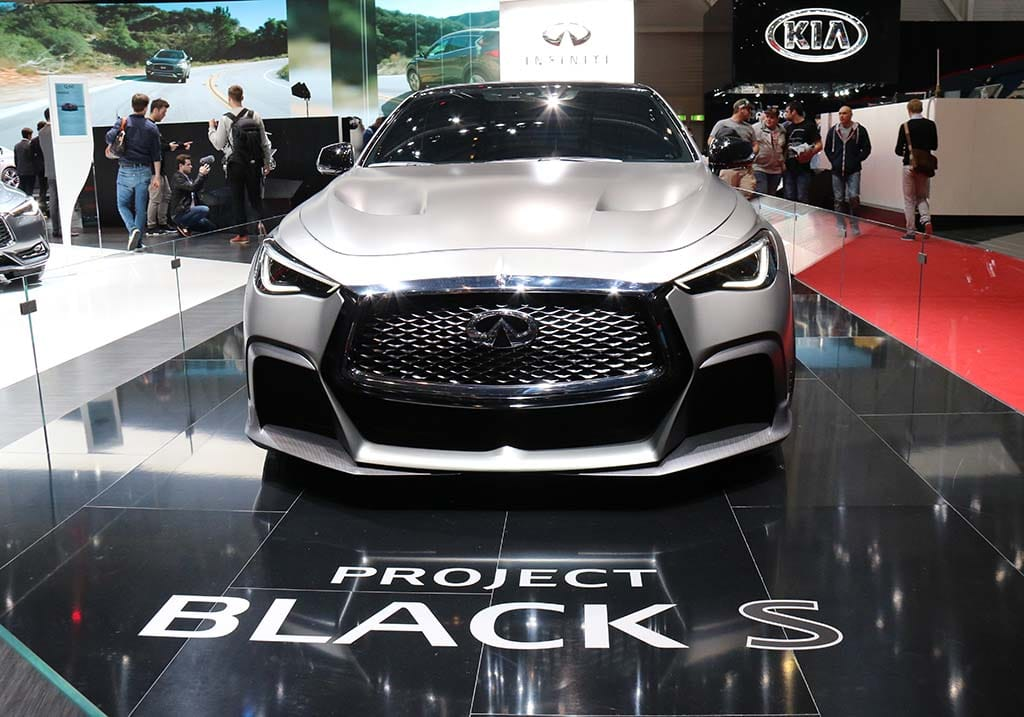 Infiniti Taking F1 To The Street With Project Black S
