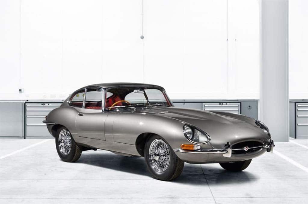 Jaguar Rolls Out 10 Fully Restored E-Types