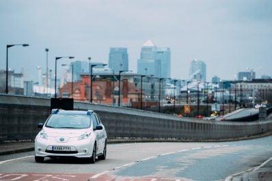 Nissan Leaf in London