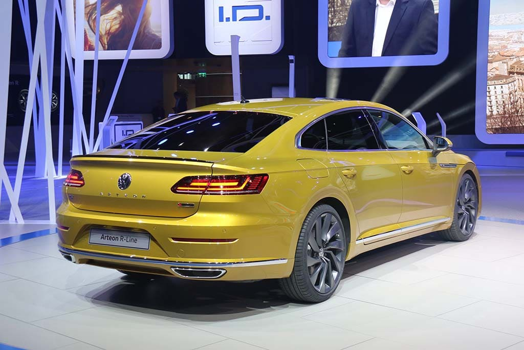 vw goes from concept to production with new arteon flagship. Black Bedroom Furniture Sets. Home Design Ideas